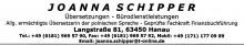 Büroservice Joanna Schipper